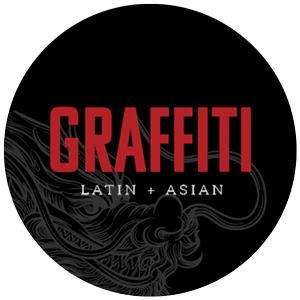 Graffiti Latin + Asian Logo